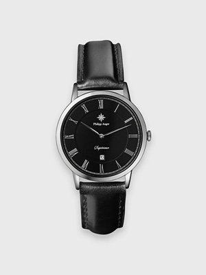Klockor - Philipp Auger 29S Silver / Black