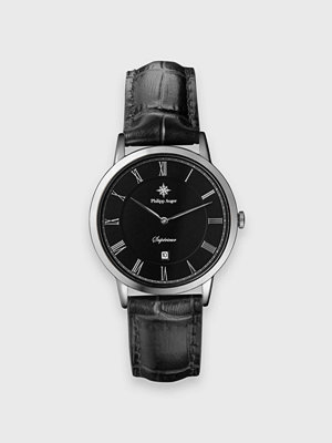 Klockor - Philipp Auger 27S Silver / Black