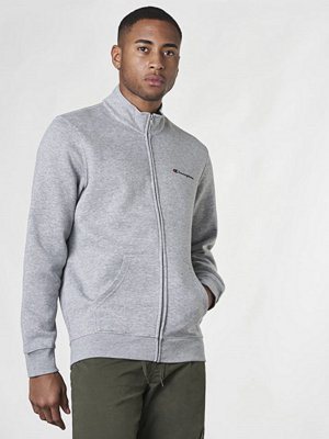 Street & luvtröjor - Champion Zip Sweatshirt Oxford Grey