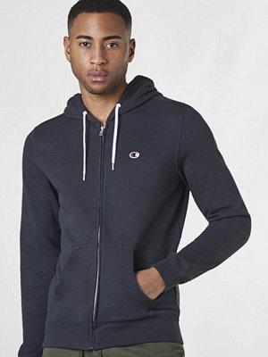 Street & luvtröjor - Champion Hooded Full Zip Sweatshirt New Navy