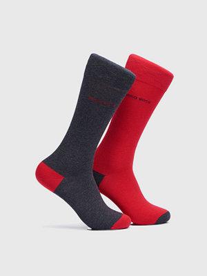 Strumpor - Hugo Boss 2-pack socks 012 Grey/Red