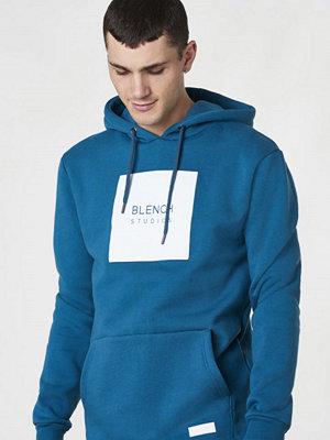 Street & luvtröjor - Blench Pullover Hoodie V.2 Blue Coral