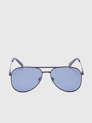 Solglasögon - Le Specs Kingdom Matte Black / Smoke Lens