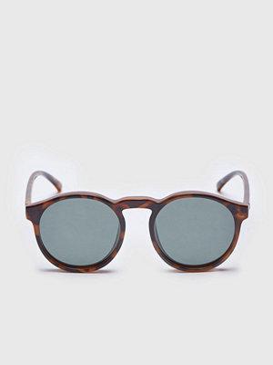Solglasögon - Le Specs Cubanos Milky Tortoise / Khaki Mono