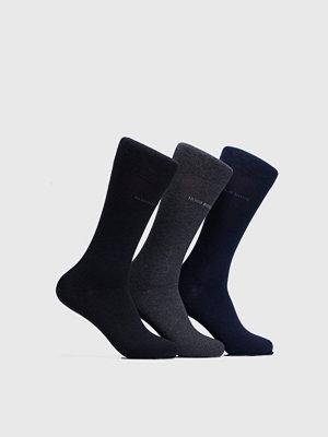Strumpor - Hugo Boss 3-pack socks 962 Black/Grey/Navy