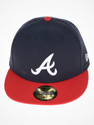 New Era 59 Fifty Atlanta Braves Navy/Red