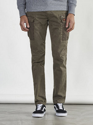 Byxor - Superdry Core cargo Light parashute Platoon Green