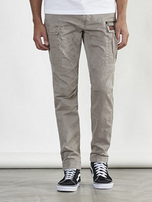 Byxor - Superdry Core cargo Light parashute Blast Steel Grey