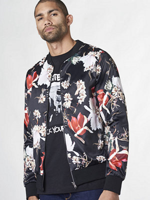 Mouli Randy Bomber Black  Flower