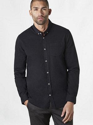 Skjortor - Studio Total Arthur Twill Shirt Black