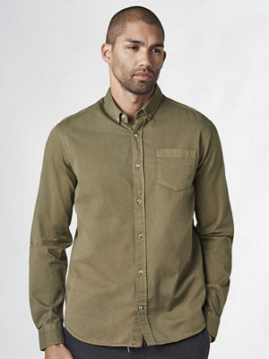 Skjortor - Studio Total Arthur Twill Shirt Olive