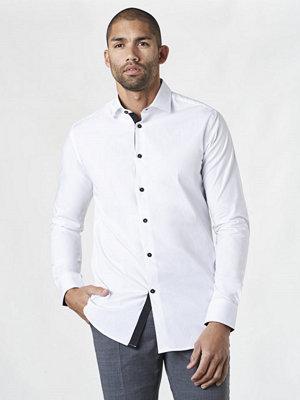 Skjortor - Studio Total Henry Contrast Shirt White