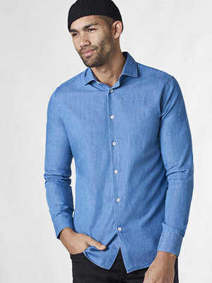 Skjortor - Studio Total Henry Chambray Shirt