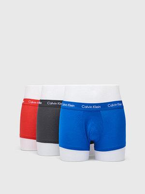 Calvin Klein Underwear Cotton Stretch 3-Pack Trunk 001 Black
