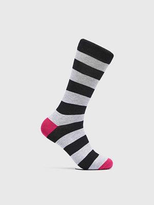 Strumpor - Björn Borg BB Stripe Ankle Sock Black Beauty