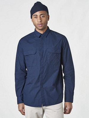 Skjortor - Filippa K Peter Utility Shirt Deepwater