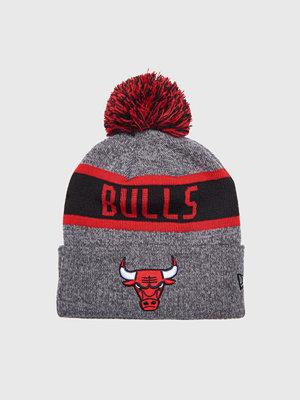 Kepsar - New Era Bulls NBA Marl Knit Grey
