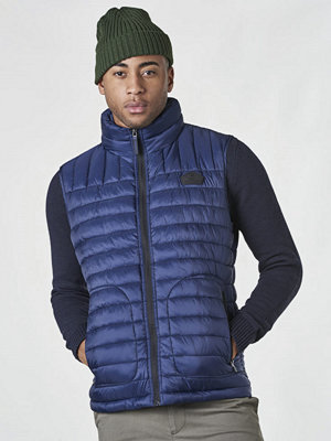 Västar - Superdry STX Fuji ZIP Gilet Midnight