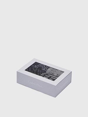 Strumpor - Calvin Klein Underwear 4-pack Logo Socks 96 Grey