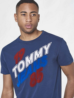 T-shirts - Tommy Jeans TJM Basic CN T-shirt S/S14 002 Black Iris
