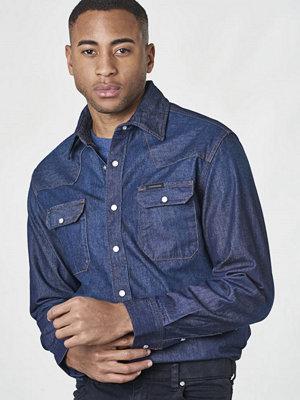 Calvin Klein Jeans Archive Western Shirt Rinsed Indigo