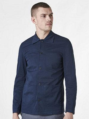 Kavajer & kostymer - Whyred Alan Shirt Jacket Navy
