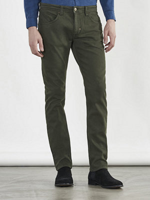 Castor Pollux Deus Jeans Military Green Denim