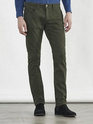 Jeans - Castor Pollux Deus Jeans Military Green Denim