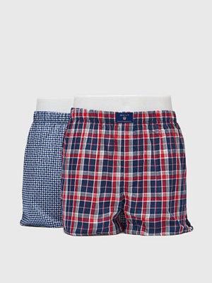 Kalsonger - Gant 2-pack Boxer Shorts Winter Star Navy