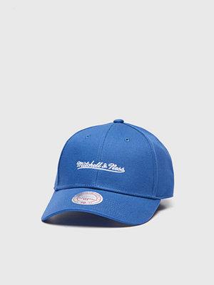 Mitchell & Ness Team Logo Low Pro Strapback Own Brand Navy