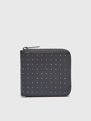 Plånböcker - Calvin Klein Calvin Grid Ziparound Calvin Grid