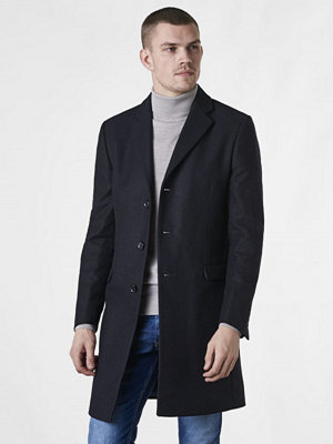 Studio Total Lambton Wool Coat Dark Navy