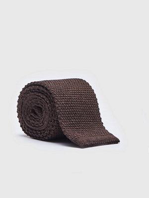 Slipsar - Castor by Castor Pollux Knitteus Dark Brown
