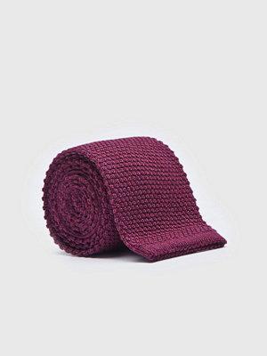 Slipsar - Castor by Castor Pollux Knittues Dark Red