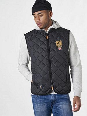 Morris Trenton Quilted Vest 99 Black