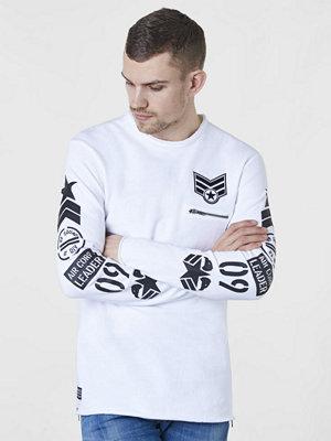 Adrian Hammond Coleman Sweater White