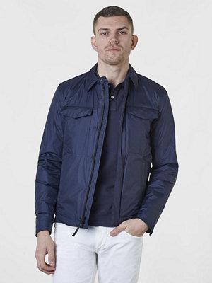 Woolrich Bering Shirt Jkt Melton Blue