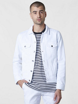 Dr. Denim Dwight Jacket White