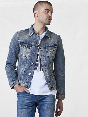 Jeansjackor - Nudie Jeans Billy Shimmering Idigo Denim