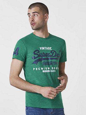 Superdry Premium Good Duo Tee Frontier Green