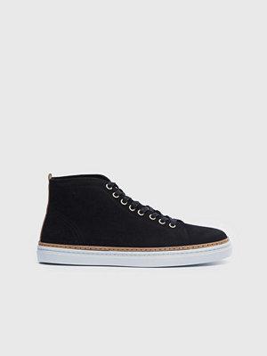 Sneakers & streetskor - Sneaky Steve Silvermine High Suede Black