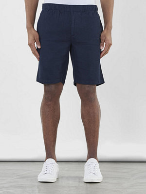 Shorts & kortbyxor - Knowledge Cotton Apparel Loose Shorts Total Eclipse