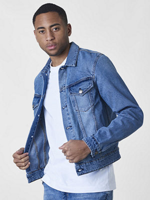Jeansjackor - Cheap Monday Legit Jacket Blue Heat