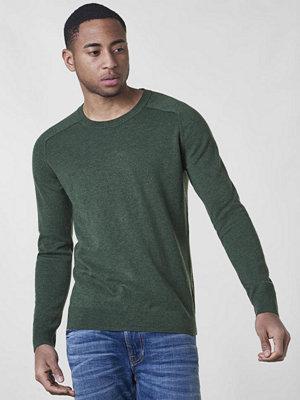 Filippa K Cotton Merino Sweater Crocodile Melange