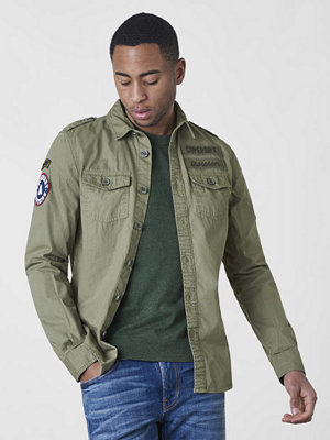 Superdry Army Corps Light L/S Shirt Hay Green