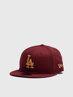 Kepsar - New Era 9Fifty LA Dodgers Cardinal/Gold