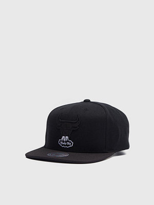 Mitchell & Ness Full Dollar Snapback Chicago Bulls Black