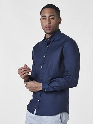 Skjortor - Ljung by Marcus Larsson Timo BD Twill Navy