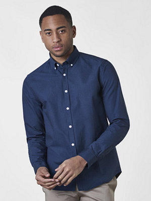 Skjortor - Studio Total Malcom Oxford Shirt Navy