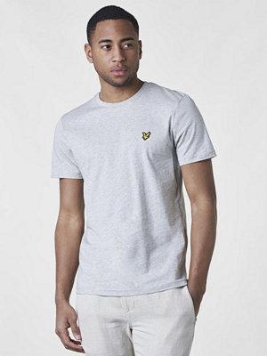 T-shirts - Lyle & Scott Crewneck Tee D24 Light Grey Marl